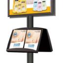 Pro-Display: вариант комплектации 4-х канальной стойки