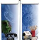 Pro-Display: вариант стойки с 2 плакатными профилями