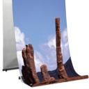 Pro-Display: Стандартный двусторонний L-баннерный стенд