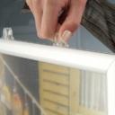 Pro-Display: слайд-рамка подвешивается к потолку