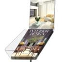 Pro-Display: Decorative Brochure Stand с фризом
