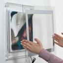 Pro-Display: фото сборки световой панели из акрила