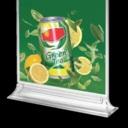 Pro-Display: стильный прозрачный менюхолдер