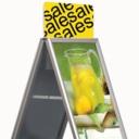 Pro-Display: уличный штендер Eco A-board с фризом