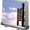 Pro-Display: двусторонний Roll-баннерный стенд