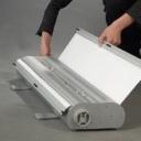 Pro-Display: роллерный механизм в основании стенда
