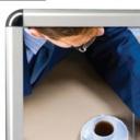 Pro-Display: рамка с внешними хромированными уголками